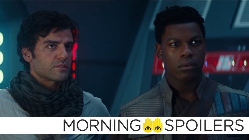 Finn and Poe will have their own histories uncovered in Rise of Skywalker.