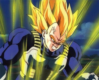 Illustration for article titled Vegeta Goes Super Saiyan 3 In Dragon Ball: Raging Blast