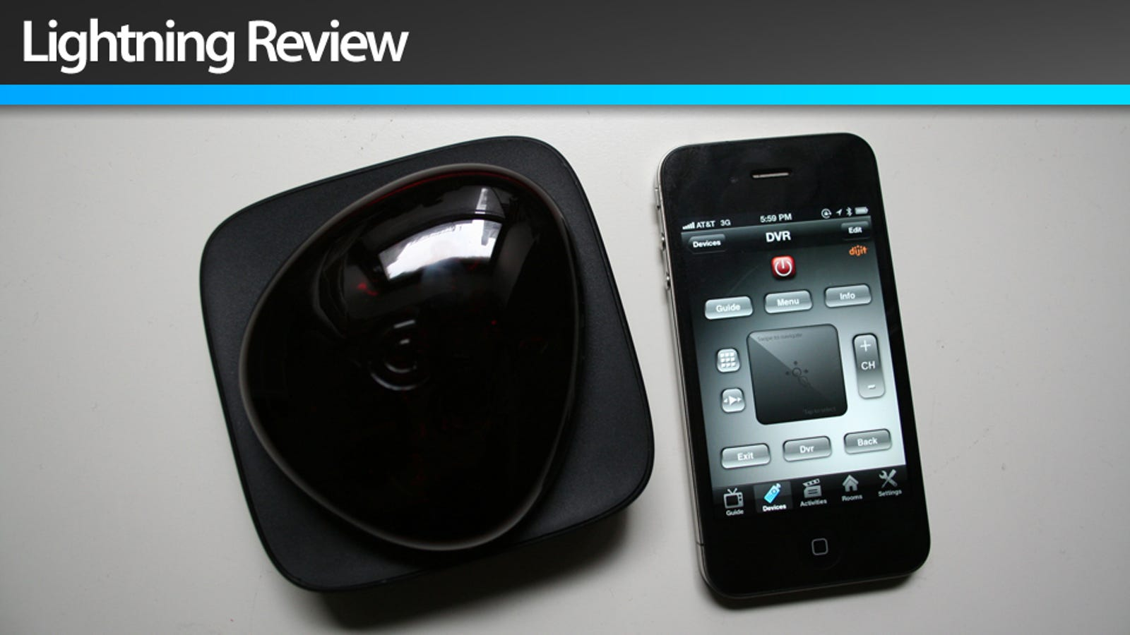 Griffin Beacon Universal Remote: Hey This iPhone Universal Remote Doesn't  Suck