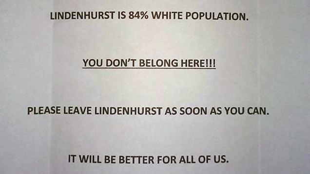 """""""You Don't Belong Here"""": Black Long Island Family Receives Racist Letter"""