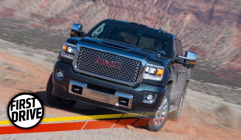 2017 GMC Sierra HD First Drive: It's Got A Ton Of Torque ...