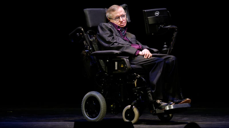 Illustration for article titled Stephen Hawking Was Terrified of Climate Change