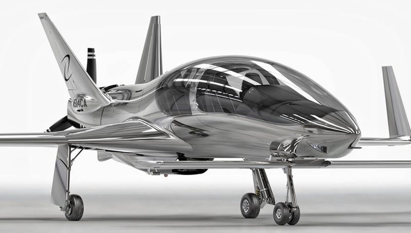 Cobalt's Valkyrie Pusher Prop Private Plane Looks Like It