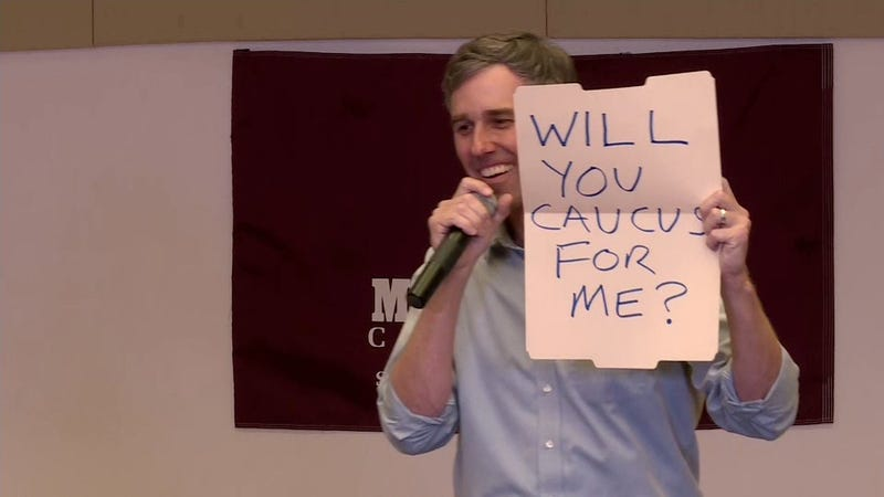 Illustration for article titled Beto O'Rourke Will Not Go to Prom With You