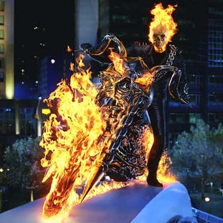 """Illustration for article titled """"Ghost Rider 2"""" will beat the flaming ass of """"Ghost Rider"""""""