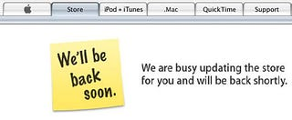 Illustration for article titled Apple Store Down! Announcement Coming