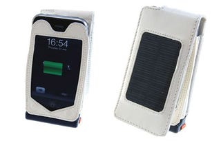 Illustration for article titled 1500mAh Solar Powered Charging Case For the iPhone 3G