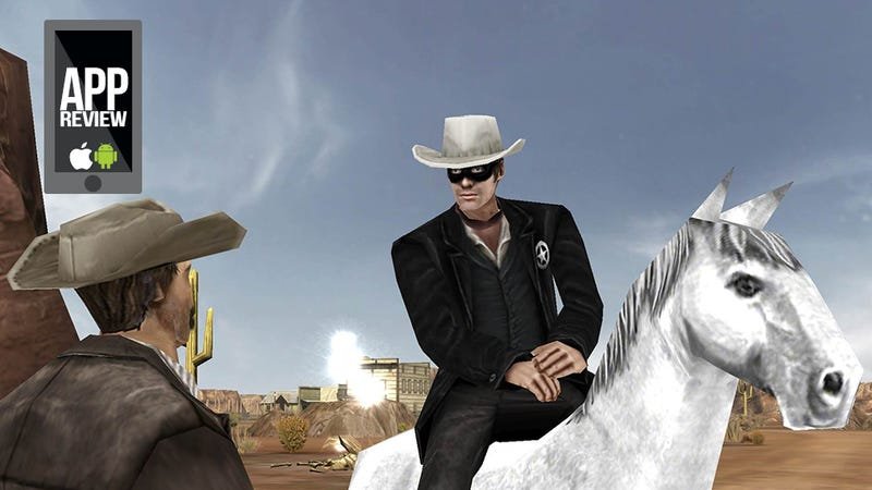 Illustration for article titled The Lone Ranger Game Is A Red Dead Disappointment