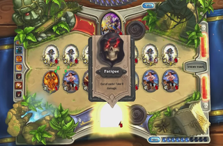 Illustration for article titled Hearthstone's Latest Trend: Making Your Opponent Run Out Of Cards