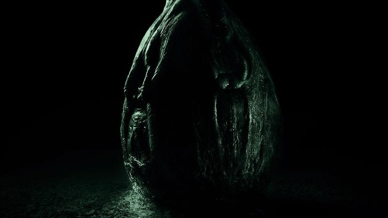 Illustration for article titled Alien: Covenant ramps up excitement with egg
