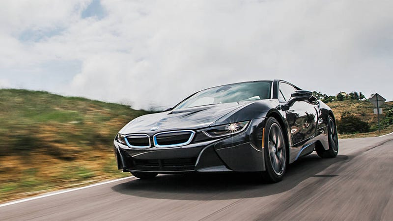 Illustration for article titled Ultimate Future Machine: Chris Harris on the BMW i8