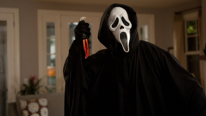 Scream, one of the most influential horror films of the '90s.