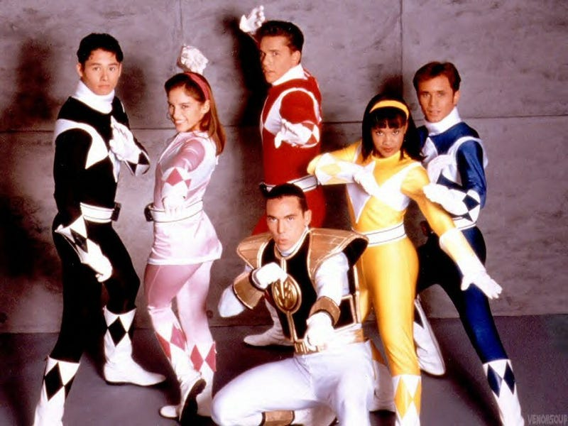 Illustration for article titled The Original Power Rangers Cast Reunites For The First Time Ever! [UPDATE]