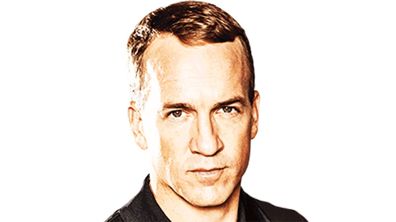 Peyton Manning's Hairline Is A Lie