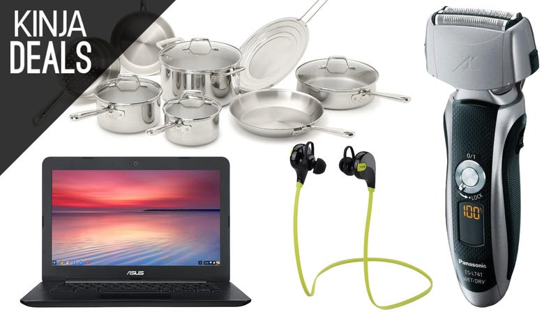 Illustration for article titled Today's Best Deals: Chromebooks, Kitchen Gear, and a Lot More