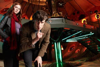 Illustration for article titled First Images Of Doctor Who's New TARDIS Interior. It's... Glam?