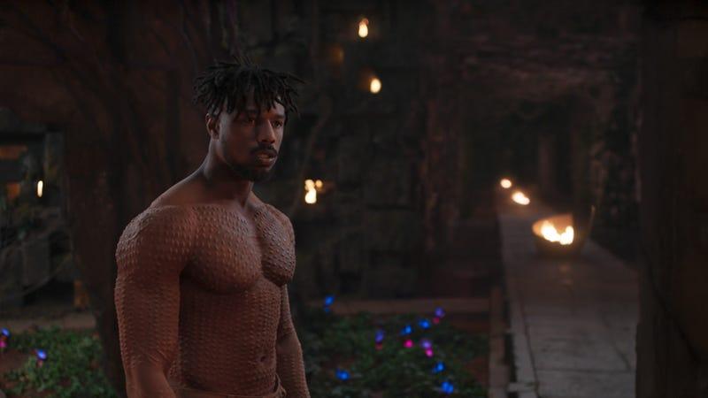 Jordan as Killmonger.