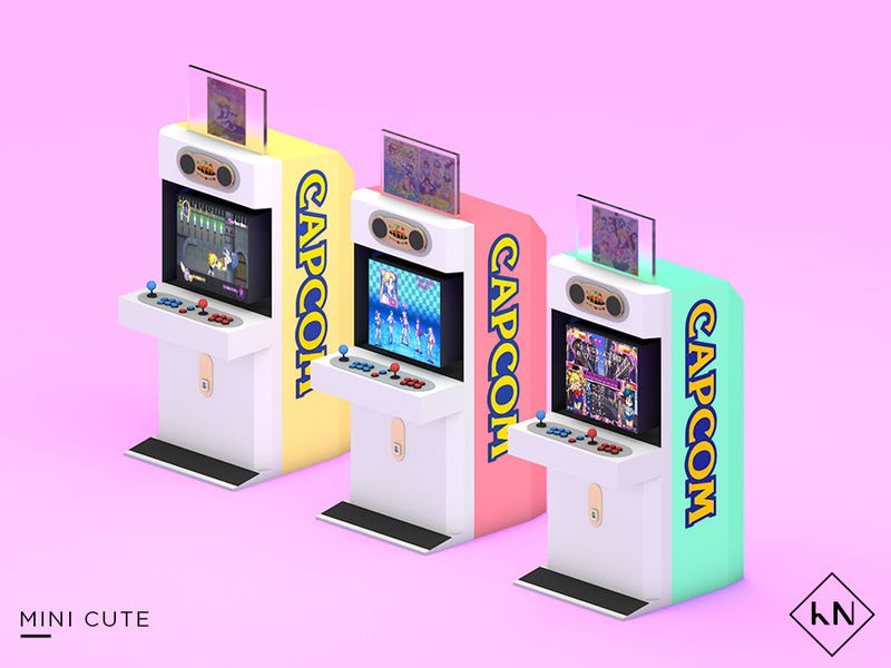 Illustration for article titled Japanese Arcade Cabinets Are Works Of Art