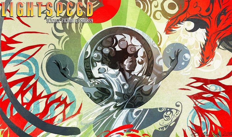 "Illustration for article titled LIGHTSPEED Presents: ""Her Monster, Whom She Loved"" by Vylar Kaftan"
