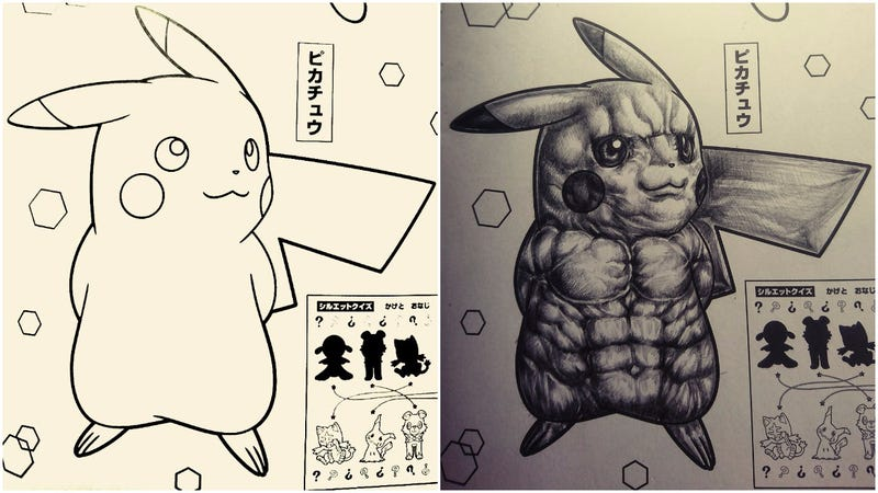 How To Make Pokémon Coloring Books Horrifying