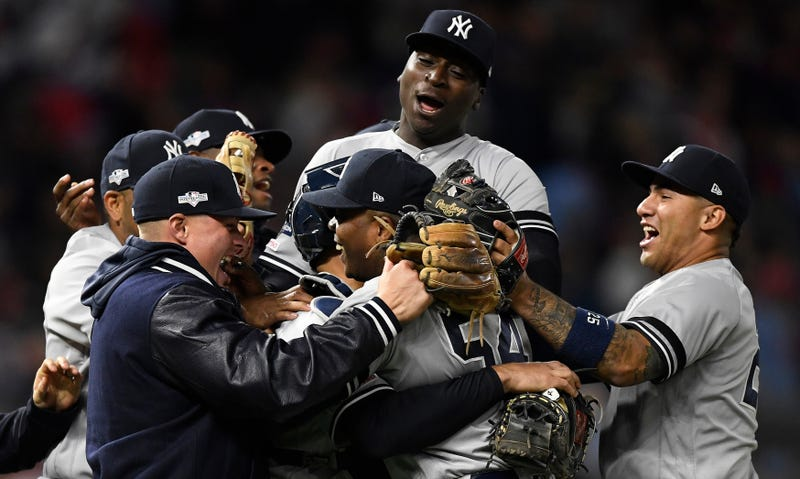 Illustration for article titled Yankees Complete Sweep Of Twins, Barf Barf Barf