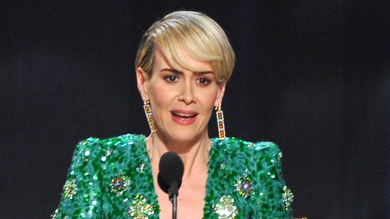Sarah Paulson brings Marcia Clark to tears with emotional Emmys speech