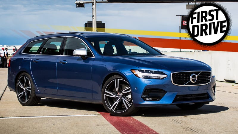 The 2017 Volvo V90 R Design Lives Up To Its Looks