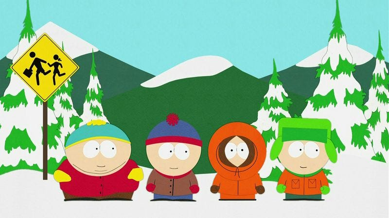Illustration for article titled A whole slew of early South Park scripts are now available online