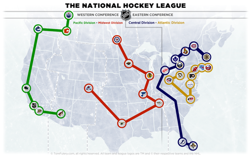Illustration for article titled The New NHL Division Names Have Been Revealed. One Of Them Is Dumb