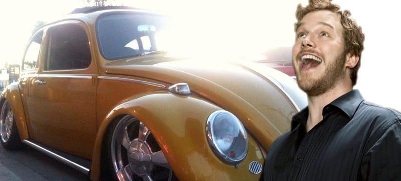 Illustration for article titled Chris Pratt Built Himself An Awesome Little Hot-Rod Beetle