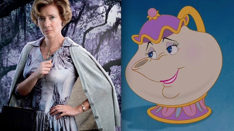 Illustration for article titled Emma Thompson and Kevin Kline join Disney's live-action Beauty And The Beast