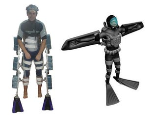 Illustration for article titled PISCES Exoskeletons Turn Every Solider Into Aquaman