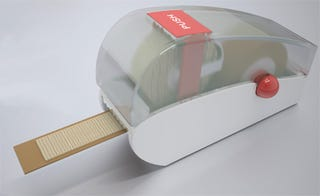 Illustration for article titled Custom Band-Aid Machine Covers Any Length of Cut