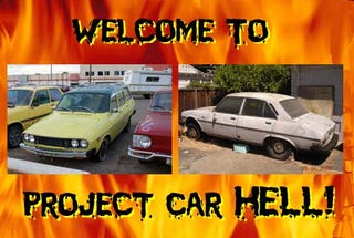 Illustration for article titled PCH, Who's Afraid Of Cheap French Cars Edition: Peugeot 504 or Renault 12?