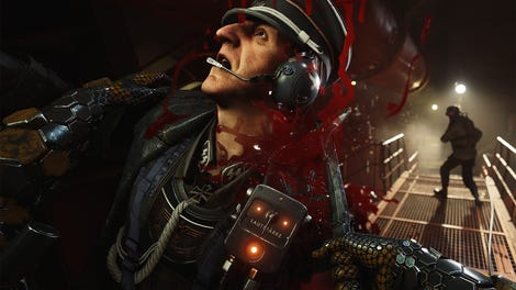 Wolfenstein II peaks with its Hitler scene, but what an
