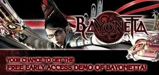 Illustration for article titled Sega Giving Out Early Access to Bayonetta 360 Demo