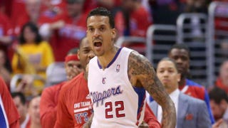 Matt Barnes of the Los Angeles Clippers during Game 7 of the Western Conference Quarterfinals against the Golden State Warriors during the NBA Playoffs at the Staples Center May 3, 2014, in Los AngelesStephen Dunn/Getty Images