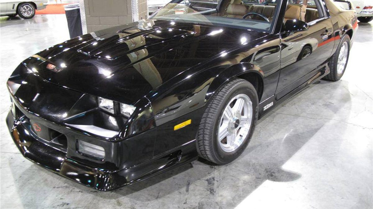At $31,000, Could This Low Production 1991 Chevy Camaro Z28