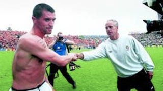Illustration for article titled Mick McCarthy's Secret To Successfully Managing A Soccer Team: Handshakes