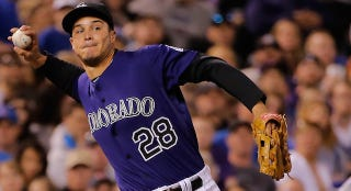 Illustration for article titled Nolan Arenado Is Having Himself One Hell Of A Month In The Field