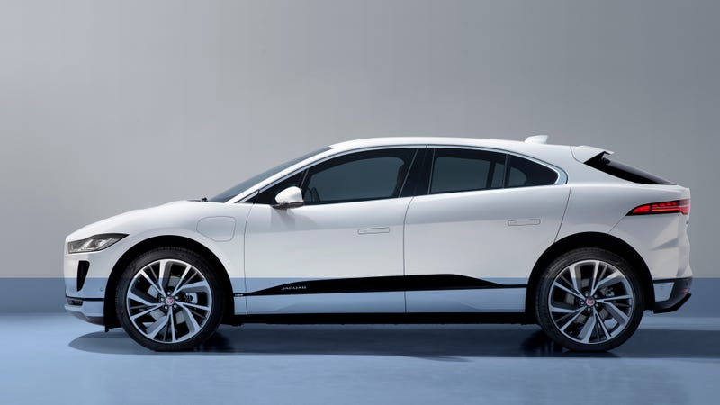 Ilration For Article Led The Electric 2019 Jaguar I Pace Can Wade Through 19 Inches