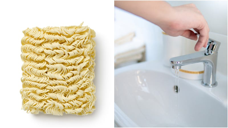 Illustration for article titled Behold: A porcelain sink, repaired with ramen