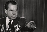 Illustration for article titled Why Richard Nixon Should Be Your Dystopian President
