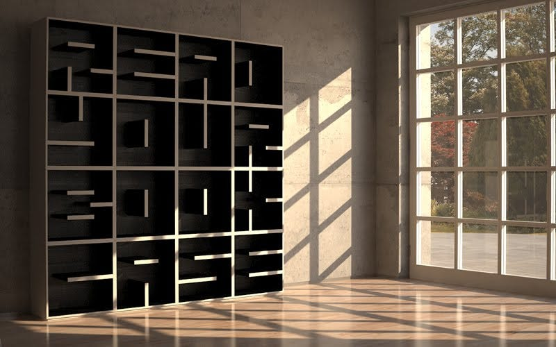 Illustration for article titled The ABC Bookcase Is Storage For Hipsters