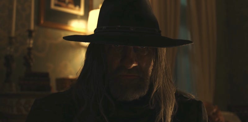 The Saint of Killers will be playing a big role in Preacher season 2. Image: YouTube