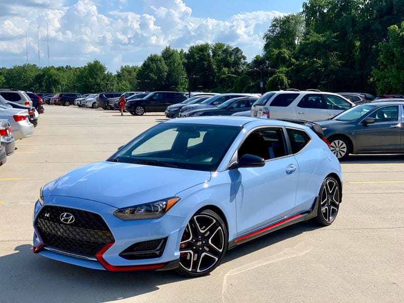 Illustration for article titled Hyundai Gave Me a 2019 Veloster N For a Week. Ask Me Anything!