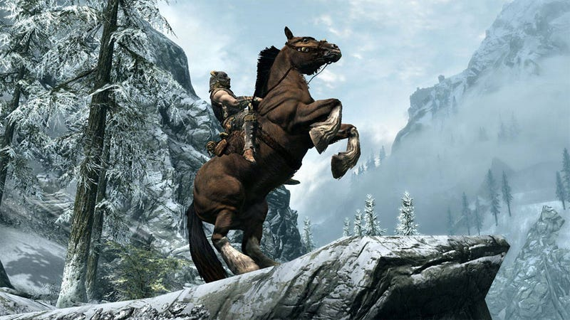 Illustration for article titled Guess Which Platform Gets Skyrim DLC First