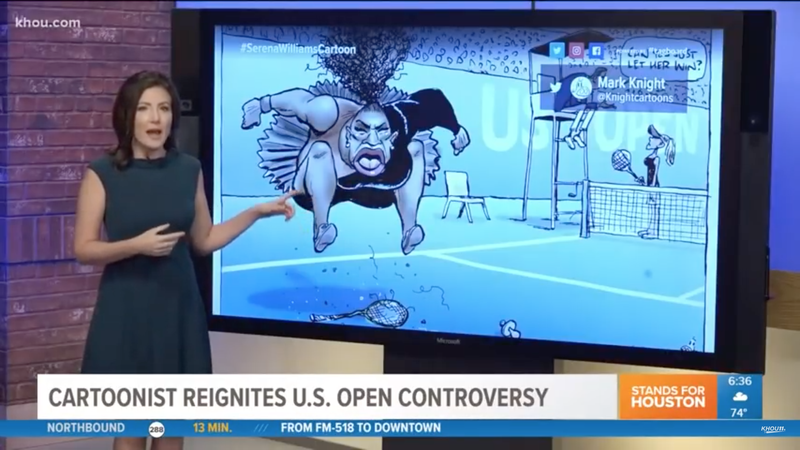Illustration for article titled Why the Serena Williams Cartoon is Racist, Sexist Trash, Explained