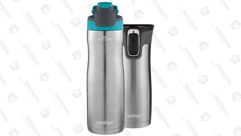 Contigo Autoseal Chill + Contigo Autoseal West Loop | $23 | Amazon
