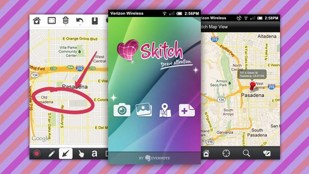 Skitch for Android Adds Maps Annotation, SD Card Saving ...